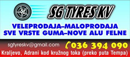 SG TYRES Kraljevo